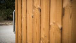 Design toilette sèche KL2 bois-aluminium