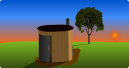 Etape 4 Installation toilettes seches publiques Kazuba