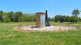 Projet installation toilette sèche au Golf de Morières