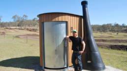 Projet installation toilette sèche en Australie