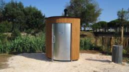 Projet toilette publique Kazuba à La Londe Les Maures