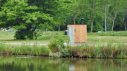 Toilette autonome Kazuba KL2 PMR à Wilhelminapark Te Rijswijk