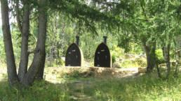 Toilettes sans eau Kazuba - projet Orri de Planès