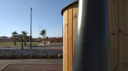 Toilette sèche KL2 PMR sur la plage de Perpignan