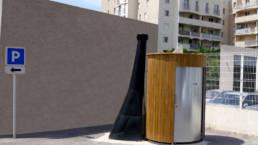 Toilette sèche en milieu citadin à Salon De Provence