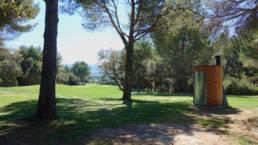 Intégration de toilettes Kazuba KL2 sur le golf d'Avignon
