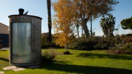 Toilette séche extérieure à Perpignan